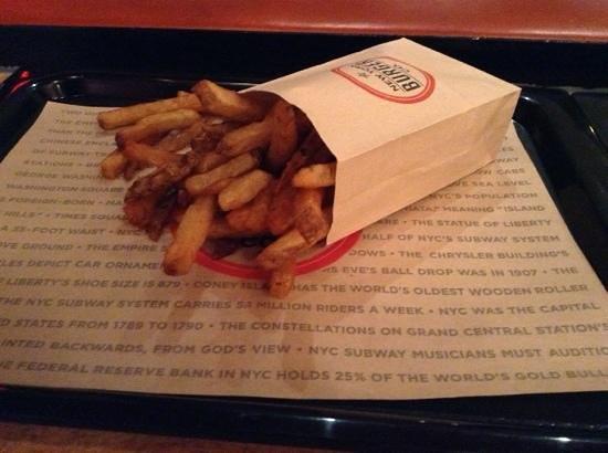 New York Burger Co.: frites