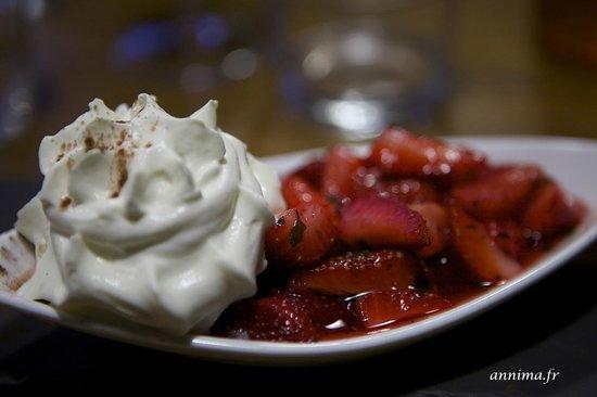 L'Escargot : fraises