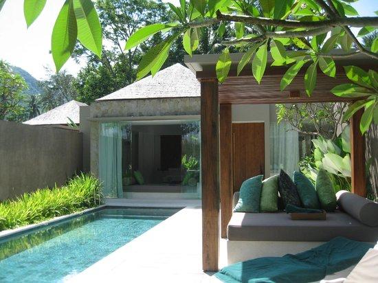 Candi Beach Resort & Spa: My villa with own swimming pool