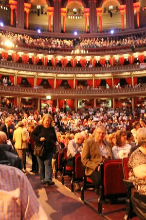 Royal Albert Hall: Seating