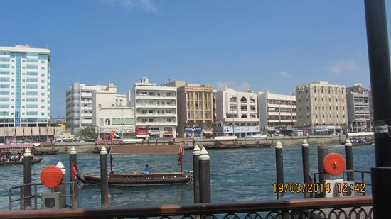 Bur Dubai Abra Dock : Nice View while travelling