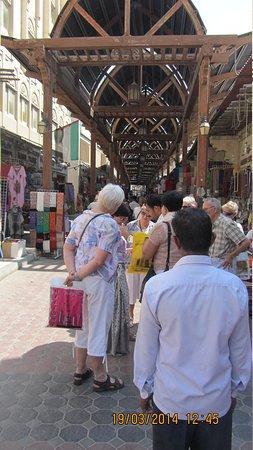 Bur Dubai Abra Dock : Old market in Bur Dubai