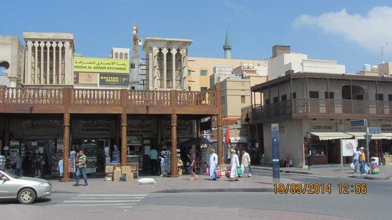 Bur Dubai Abra Dock : Deira Dubai Market