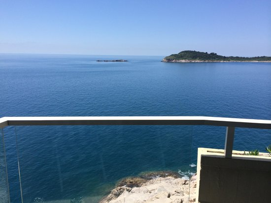 Hotel Croatia Cavtat: View from our balcony