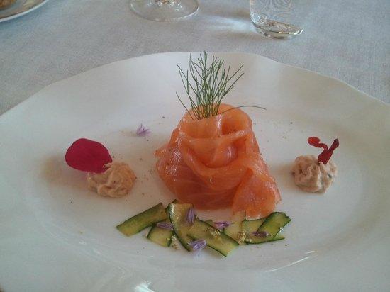 La Bonne Etape: La rosace de saumon fumé à la maison