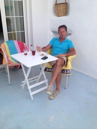 Adriani Hotel : gouter en terrasse