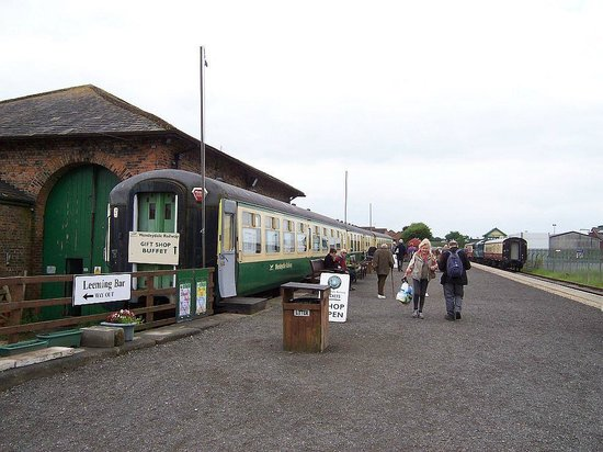 Wensleydale Railway : Leeming Bar station