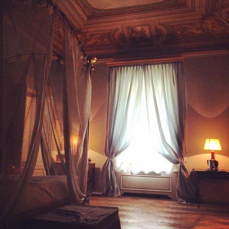 Al Palazzo Del Marchese Di Camugliano: Notre chambre