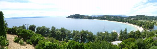 Skiathos Palace Hotel: Veiw From Room 208