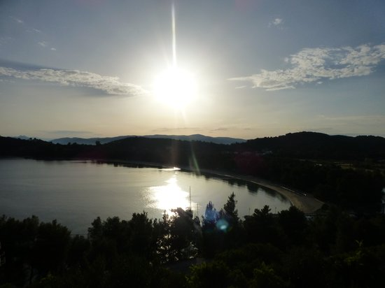 Skiathos Palace Hotel: Sunset From Our Room
