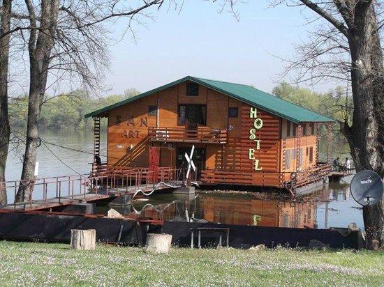 San Art Floating Hostel: la struttura