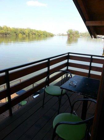 San Art Floating Hostel: il balcone della nostra camera