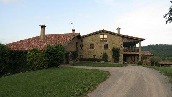 Mas La Serra: La casa