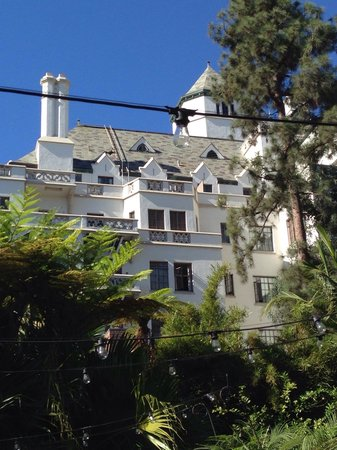 Chateau Marmont: View from pool area