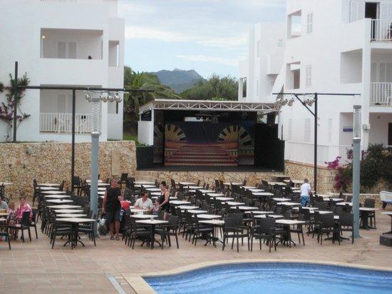 Aparthotel Ferrera Blanca: Main stage