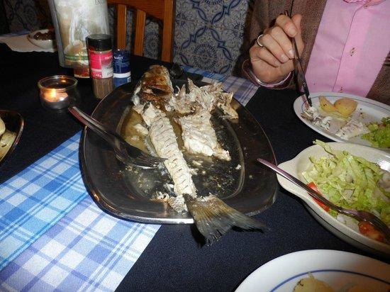 Penina Hotel & Golf Resort : Fishermans Rest- Sea Bass