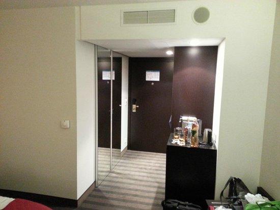 Radisson Blu Sobieski Hotel Warsaw : Wejście do pokoju