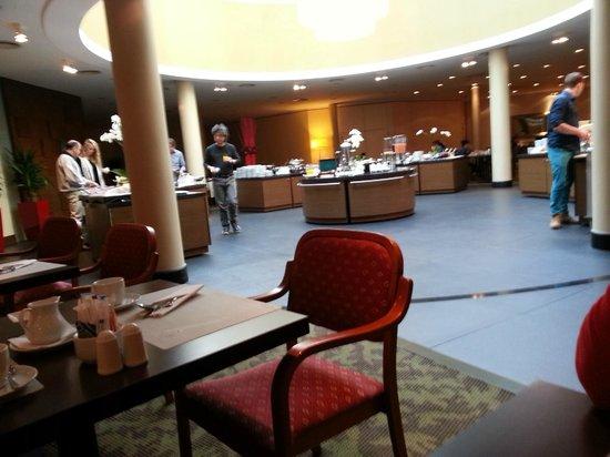 Radisson Blu Sobieski Hotel Warsaw: Jadalnia