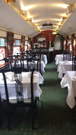 The Avon Causeway: Inside Pullman carriage
