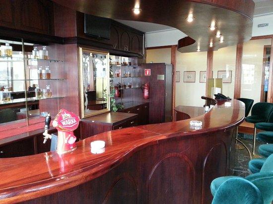 Radisson Blu Sobieski Hotel Warsaw: Nieczynny bar przeznaczony na palarnię