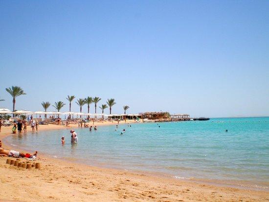 Hilton Hurghada Resort : Spiaggia