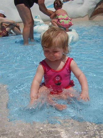 Blizzard Beach: My beautiful little girl