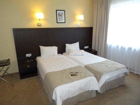 Baltiya Hotel: Кровати