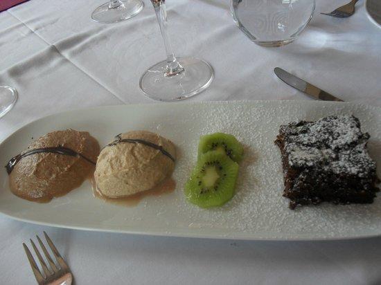 Restaurante Sarrazola: The delicious dessert