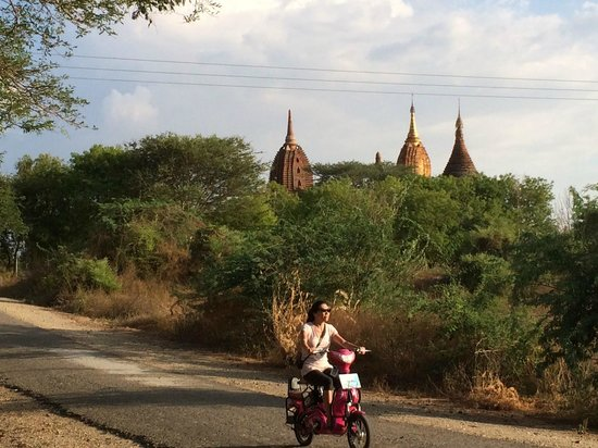 Temples de Bagan : It's just beautiful. Best experience ever.