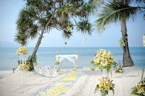 Melati Beach Resort & Spa: ceremony