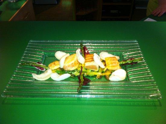 Limette: Sashimi vom Lachs