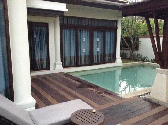 Melati Beach Resort & Spa : pool villa suite