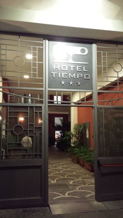 Hotel Tiempo: ingresso alla reception