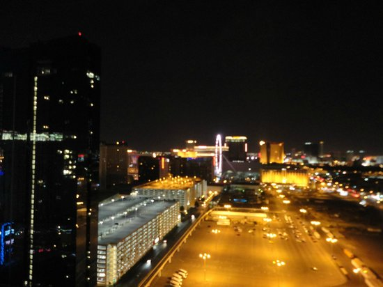 Signature at MGM Grand: View from balcony