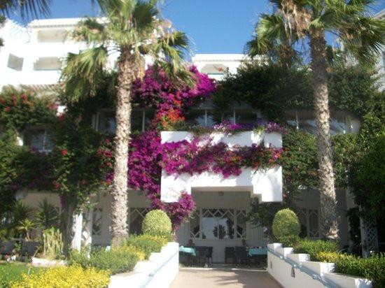 Royal Azur Thalasso Golf : вид на отель с моря