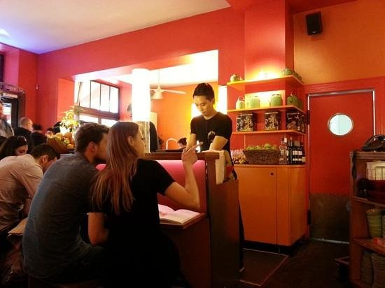 Monsieur Vuong: Eating by the bar