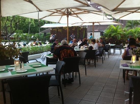 Sheraton Princess Kaiulani: Pikake Terrace Dining