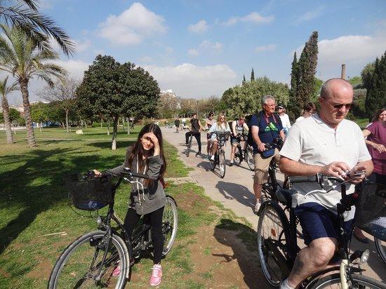 Valencia Bikes: turia park