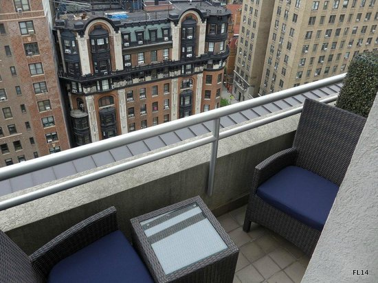 NYLO New York City: View of East Terrace