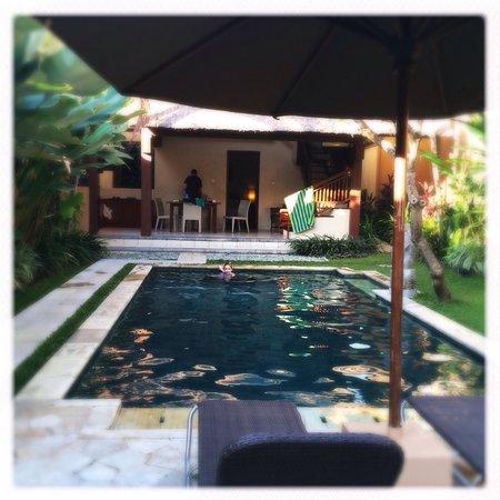 Mutiara Bali Boutique Resort & Villas: Villa 4 pool