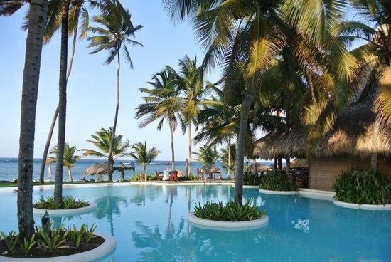 Zoetry Agua Punta Cana: piscine côté restaurant Indigo