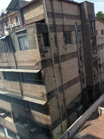 Goldfinch Hotel Bangalore: View from our room