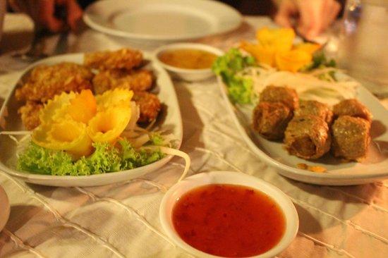 Kampong Kata Hill: Starters