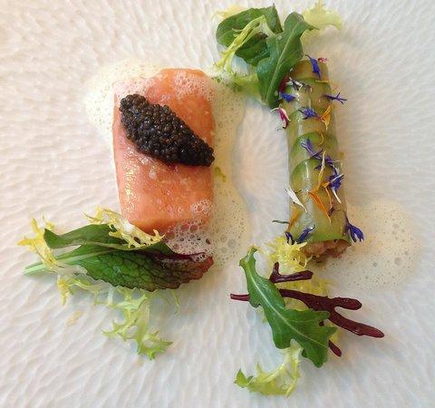 Restaurant Adler: Felchen-mit-Kaviar