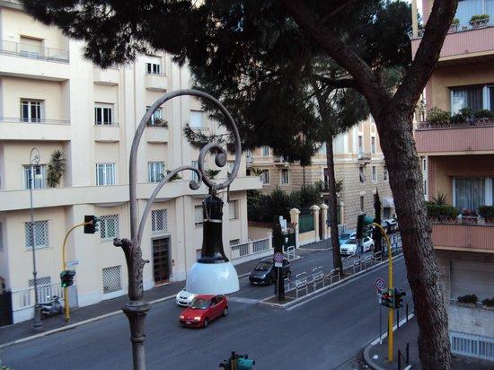 Hotel Villa Grazioli: Вид из окна