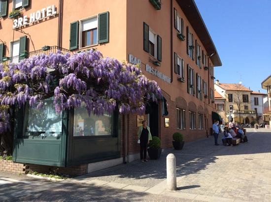 Hotel Tre Re: beautiful wisteria