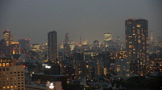 The Strings by InterContinental Tokyo : vue de la chambre