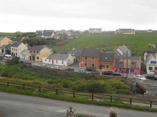 Sea View House Doolin: View from our room.