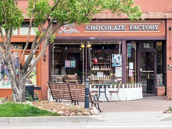 Old Colorado City Historic District: Rocky Mountain Chocolate Factory
