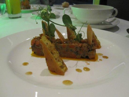 The Vine Hotel : salade de carottes